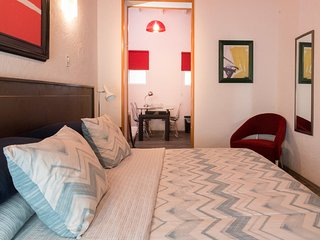 Cozy Suite within adults-only urban retreat, near the WTC & La Condesa