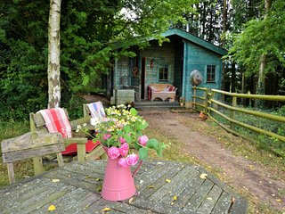 63223 Log Cabin situated in Hay-On-Wye (7mls SE)