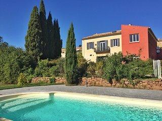 Domaine Languedoc - Ferien im ehemaligen Winzerhaus mit Pool
