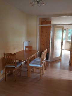 Holiday Apartment Uni Mainz 3-5 Person