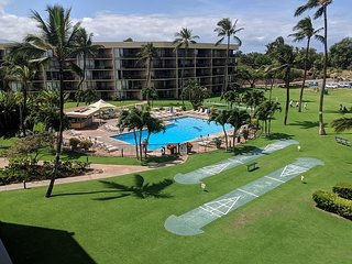 Book it now!  Maui Sunset  121B ~ 2 BR, 2 BA, Ideal for Families!
