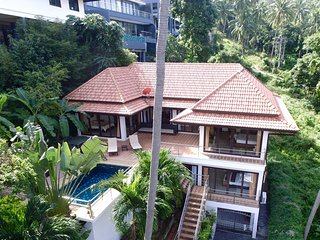 Chaweng View Villa 5 Bedrooms 3.5 Bathrooms Pool Sea/Mountain views