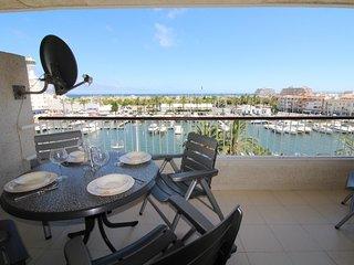 0162-PORT GREC Apartamento con vista al canal y al mar