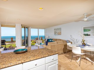 Bright, Beachy & Beautiful 1 BR Oceanfront - DMST13