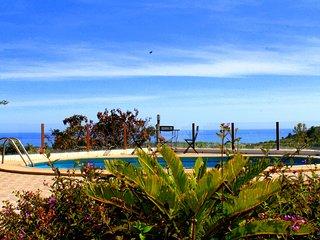 Cortijo & Apartment with garden, pool & seaviews in Almayate near Málaga