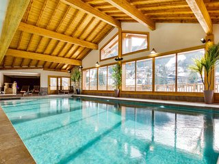 Araches-la-Frasse Apartment Sleeps 8 with Pool and Free WiFi - 5653628