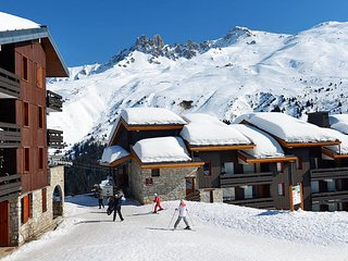 Meribel Mottaret Apartment Sleeps 3 with WiFi