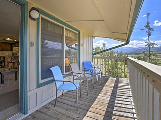 NEW! Fraser Townhome-10 Min to Winter Park Resort!
