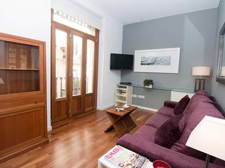 1 Bedroom Apartment with balcony. Old Town. Valencia. TRIN1