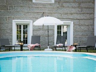 Casa Vacacional As Teresas con piscina, jardin y barbacoa