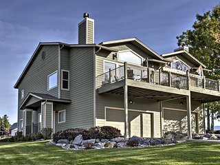 Cozy Bigfork Townhome w/Calming Mtn. & Lake Views!