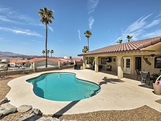 Lovely South Side Home w/Pool- Mins to Lake Havasu