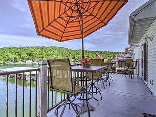 Lake of the Ozarks Resort Condo w/Boat Slip & Pool