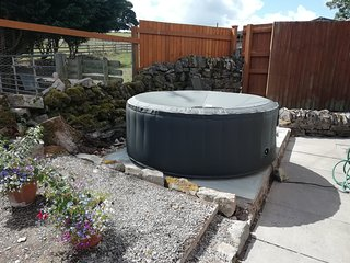 Birch now has a hot tub available to hire