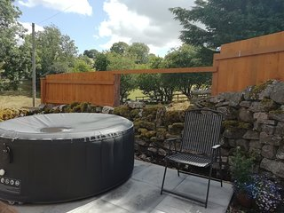 Birch now has a hot tub available to hire!
