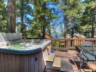 High End Dollar Point Home: Lake Views & Hot Tub