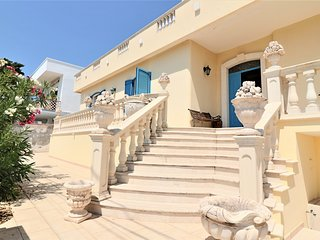 Villa della Liberta vacation home in Torre Suda in Salento facing the sea