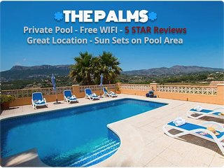 The Palms adorable private pool and villa in calpe
