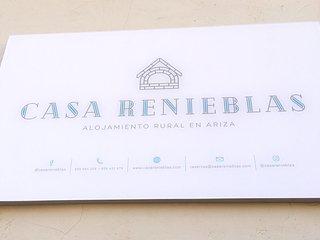 Casa Renieblas, alojamiento rural en Ariza con mucho estilo y encanto.