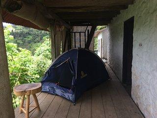 Camping en Cascada La Chorrera