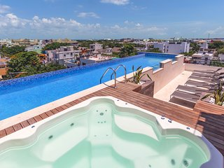 Studio in Central Playa with Rooftop Pool and BBQ - Velas