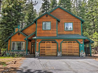 Chic Updated Truckee Ski House w/Game Room & Deck!