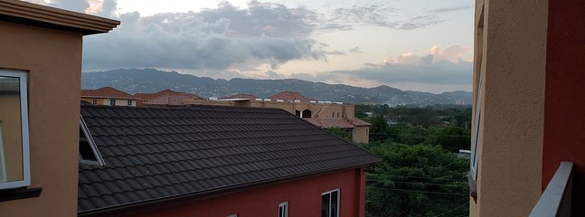View fr the balcony