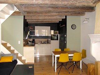 Le 4 bis, Duplex de charme, 75 mètres carrés, Metz centre