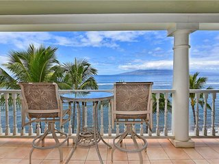 The charm of historic Lahaina Town: directly on the beach  Lahaina Shores #501