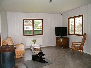 maison de vacances avec terrain clos