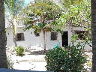 Serene House is a 5-minute walk to the enchanting Watamu beach