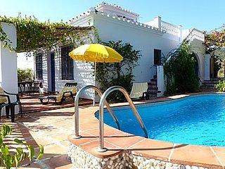2 bedroom Villa in Frigiliana, Andalusia, Spain : ref 5455045