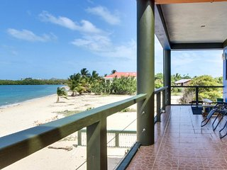 Oceanfront condo right in town with stunning private beach & tranquility!
