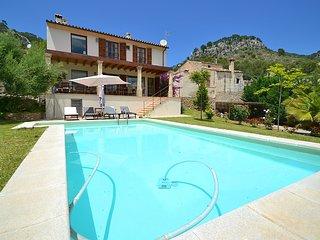 Villa Caimari con piscina Wifi y excelentes vistas para 6 + 2 personas