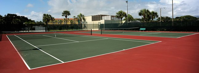 Bring your rackets and get some exercise on one of our 3 newly paved courts