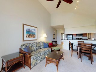 NEW LISTING! Lovely Wailea condo w/shared pool, hot tub, tennis courts & views