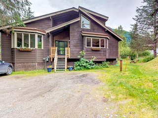 NEW LISTING! Peaceful and family-friendly Girdwood retreat with private hot tub!
