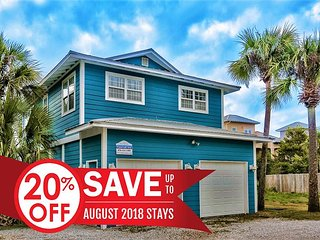20% OFF August! Near Beach + FREE Fishing/Dolphin Cruise/Golf/Paddle Boarding
