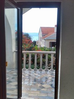 Terrace 1, Surface: 7 m²