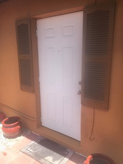 Front Door of The Unit