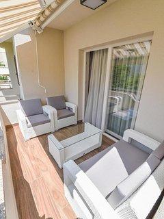Terrace 1, Surface: 6 m²