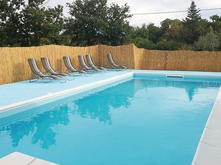 Rupalj Holiday Home Sleeps 8 with Pool Air Con and WiFi - 5637029