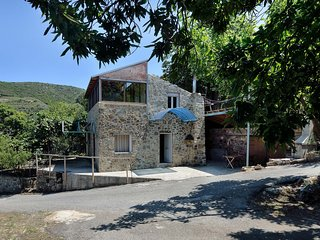 Cottage in Cretan Nature & Chestnut Trees