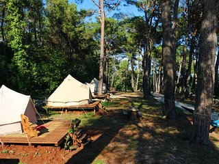 Camp DVOR 'WOODEN IDYLL'