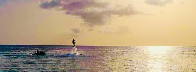 Fly Boarding Rainbow Beach
