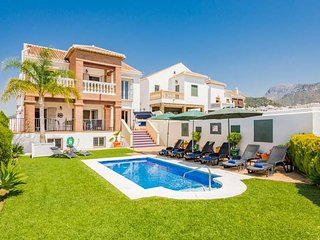 4 bedroom Villa in Frigiliana, Andalusia, Spain - 5629211