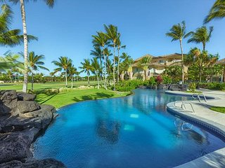 Fairway Villas Waikoloa A21 - 2 Bedroom 2 Bath villa with Golf Course Views!!