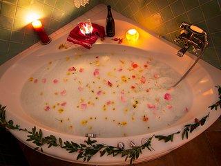 casa romantica para 2 personas con jacuzzi