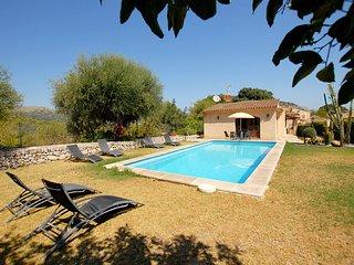 Casa de Campo Bajoca 1, en Pollença cerca del campo de golf