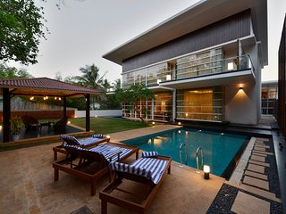 Seis Villa - Exquisite and Luxurious 4 Bedroom Villa in Arpora